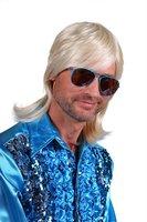 Pruik Daniel blond deluxe