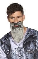 Set Biker snor en baard zelfklevend