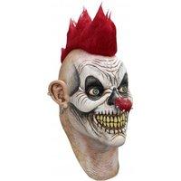 Ghoulish Masker Punky Horror Clown Met Hals