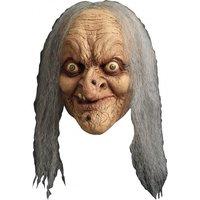Ghoulish masker Wanda met haar en ogen