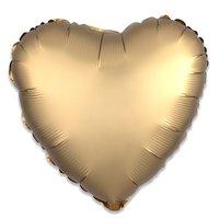 Folieballon Goud hart 43 cm