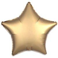 Folieballon Goud ster 43 cm