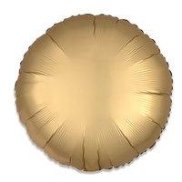 Folieballon Goud rond 43 cm