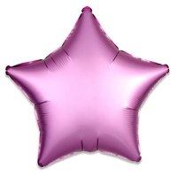 Folieballon Roze ster 43 cm