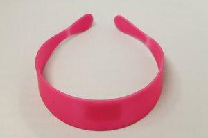Haarband neon roze