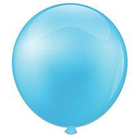 Topballon baby blauw 91 cm