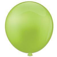 Topballon limoengroen 91 cm