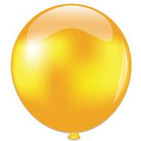 Topballon goud metallic 91 cm