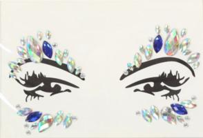 Face en body jewels (gezicht steentjes) nr 4