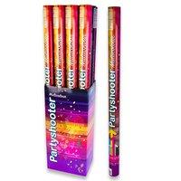Confetti shooter 80 cm met gekleurde confetti