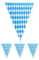 Vlaggenlijn Oktoberfest blauw/wit 10 meter