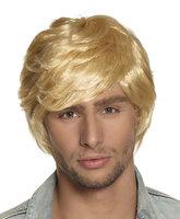 Pruik Tyler blond