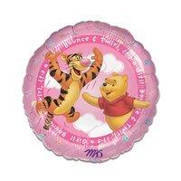 Folieballon 'It's a Girl' Winnie the Pooh 45 cm