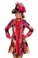 Carnavalsjas dames Patches pink