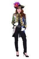 Dames patchwork slipjas model Napoleon
