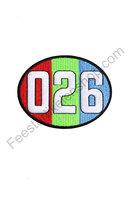 026 Embleem netnummer