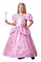 Prinsessenjurk kinderen roze