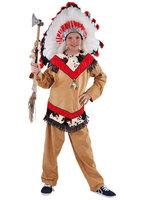 Indianen jongen 2-delig: blouse met broek