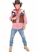 Cowboy overhemd met vest