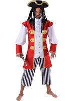 Kapitein Haak luxe 3 delig jas,  vest en broek