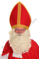 Sinterklaas Pruik & Baard Kunsthaar Nr. 2