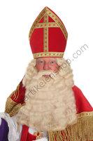 Sinterklaas Pruik & Baard buffelhaar Antoine B