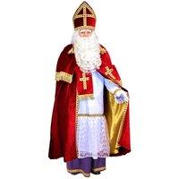 Sinterklaas kostuum velours
