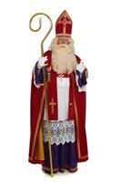 Sinterklaas kostuum traditioneel met extra brede mantel (TV Sint)