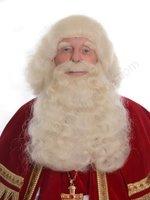 Sinterklaas Pruik & Baard buffelhaar Extra