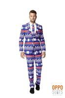 Opposuits The Rudolph 3 delig kostuum: colbert, broek en das