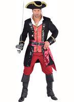 Piraat 'James' compleet met vest, broek, sjerp en riem