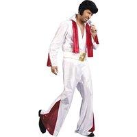 Elvis: shirt, broek, riem en shawl, one size maat M/L