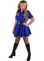 Magic Politie girl jurk blauw