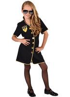 Magic Politie girl jurk zwart