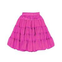 Luxe petticoat 2 laags hard roze