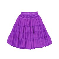 Luxe petticoat 2 laags paars