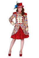 Luxe dames gevoerde jas goud brokaat in Paisly color design OP=OP