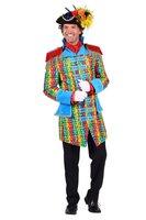Heren carnavalsjas 'Straw' gevoerd luxe