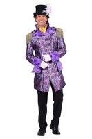 Heren carnavalsjas 'Couture' gevoerd luxe