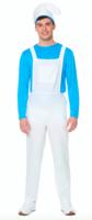 Blauwe smurf: broek, hemd, muts