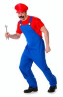 Mario 3-delig: broek, hemd en muts