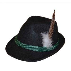 Tiroler hoed zwart