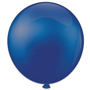 Mega ballon koningsblauw