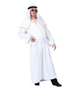 Sheik wit kostuum