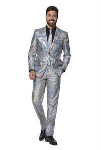 Opposuits Discoballer Silver