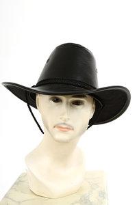 Cowboyhoed nepleer zwart