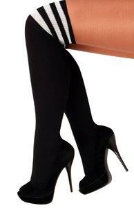 sokken zwart-wit