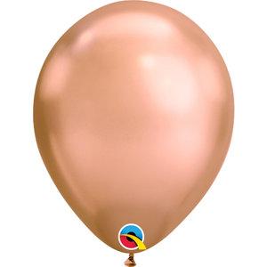 Chrome ballonnen Roségoud