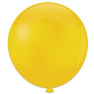 Mega ballon geel