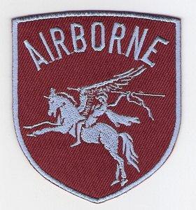 Airborne Pegasus patch schildvorm